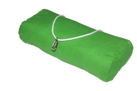 Подушка для гамака из льна зеленая RGP9