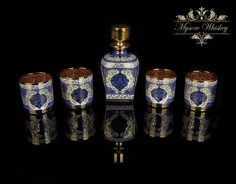 Набор Виски 6 персон Mysore (Ручная Роспись)