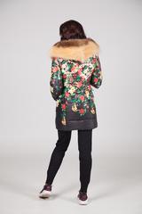 куртки с капюшоном женские