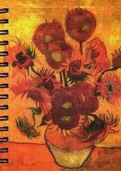Скетчбук Ван Гог. Подсолнухи