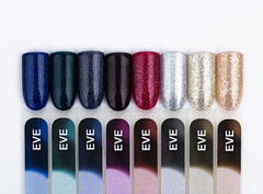 Гель-лак  Eve 128 Deep Green Glitter, 6 мл