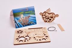 3D-пазл из дерева Wood Trick Вудик Яблоко