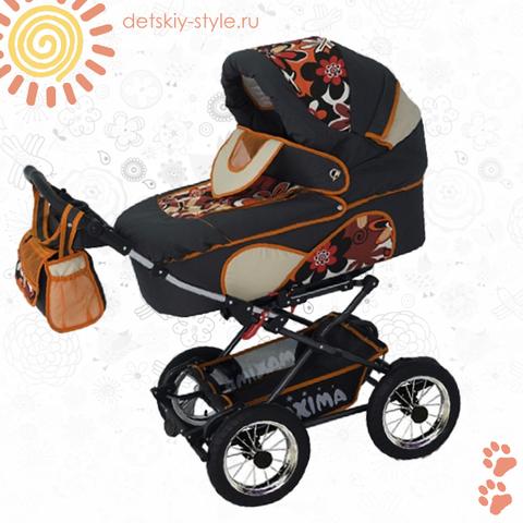 """Коляска Stroller B&E """"Maxima Mega"""" 2в1"""