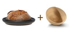 Форма Bread&Cake DENK и корзинка для расстойки