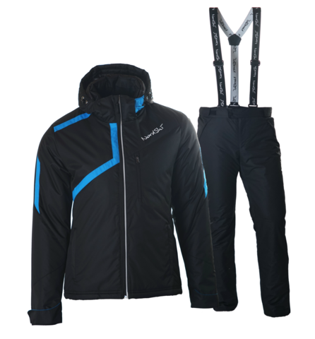 NORDSKI PREMIUM мужской прогулочный лыжный костюм черный