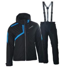 Мужской прогулочный лыжный костюм Nordski Premium (NSM111170-NSM211100) черный