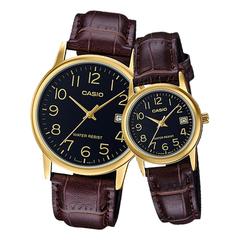 Парные часы Casio Standard: MTP-V002GL-1B и LTP-V002GL-1B