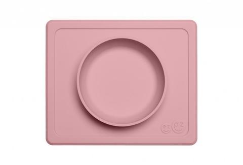 Ezpz Тарелка с подставкой Mini Bowl Packaged Blush, нежно-розовый
