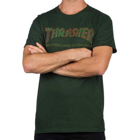 Футболка THRASHER Davis (Forest Green)