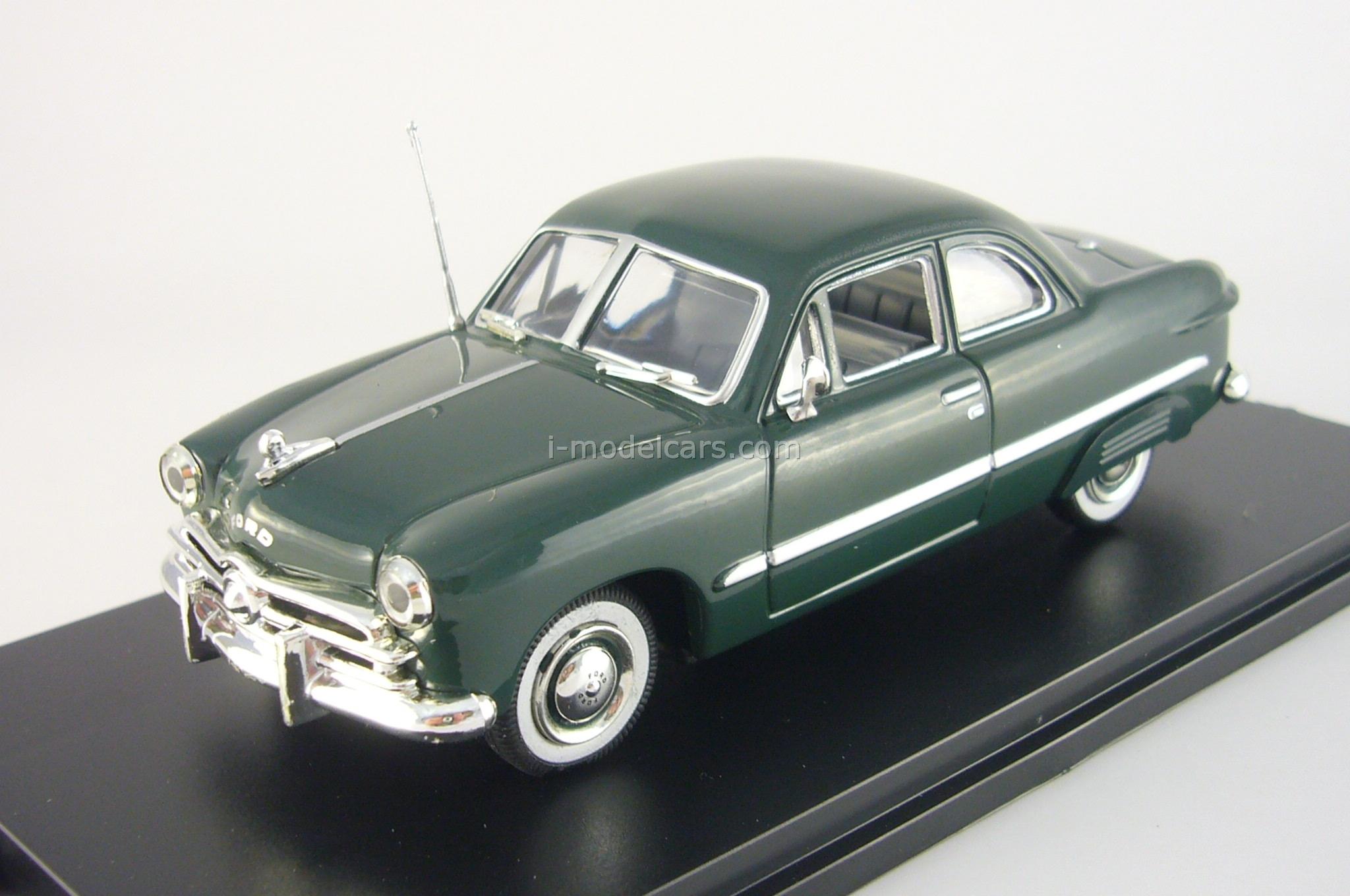 Model Cars Ford Custom 2 Door Coupe Dkl Grun With Rear Fender 1949 Sedan Covers American Heritage