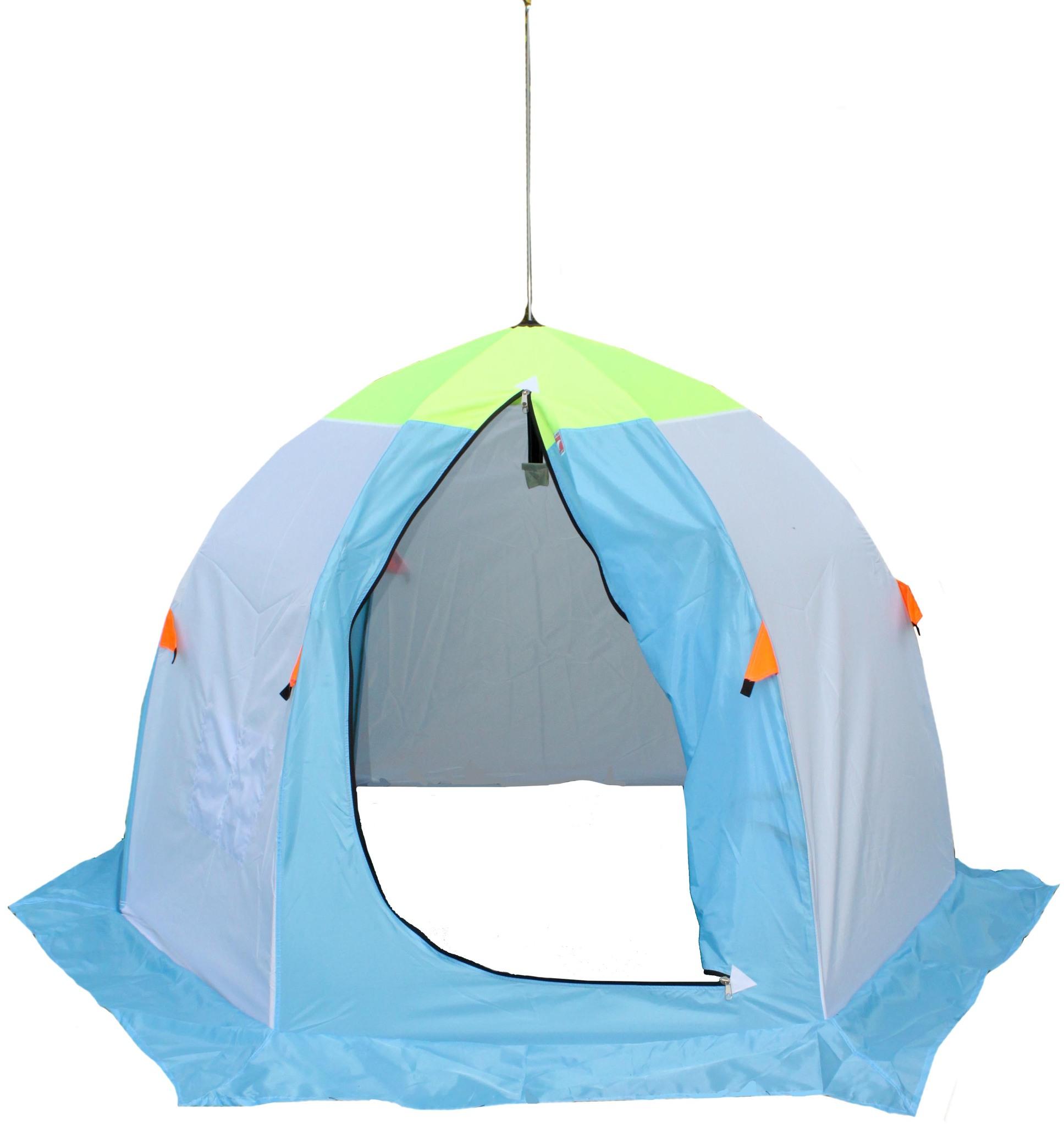 палатка крыло для зимней рыбалки