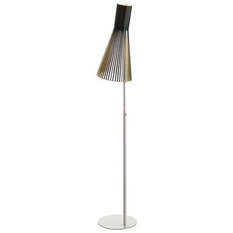 replica of Secto floor lamp, black