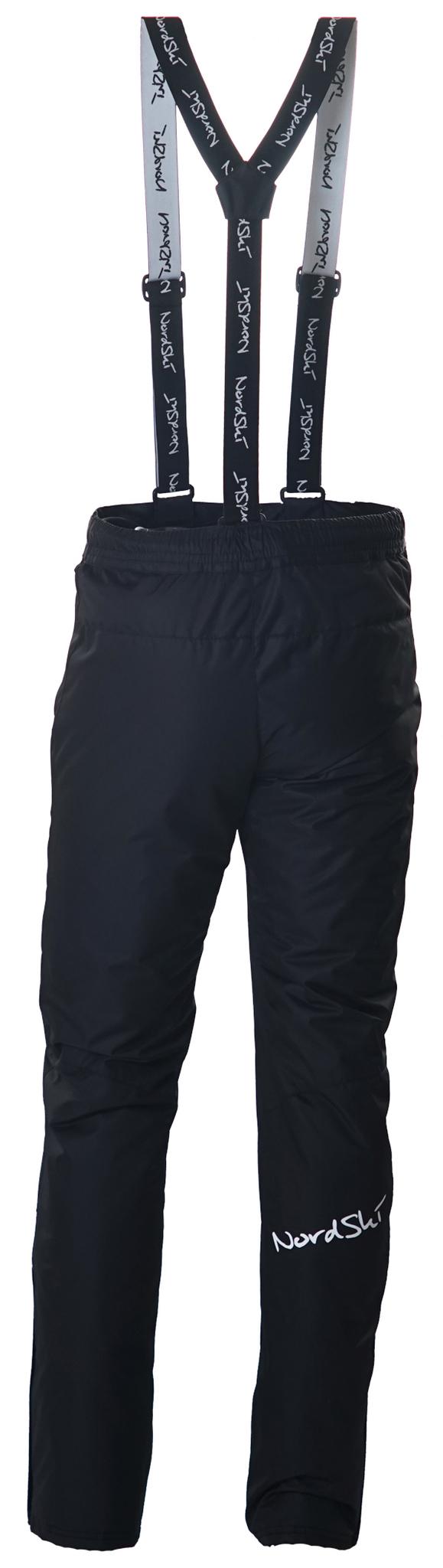 Мужской прогулочный лыжный костюм Nordski Premium черный
