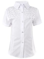 0271 блузка детская, белая