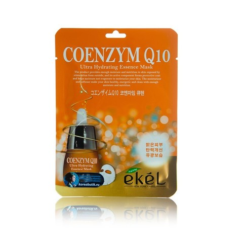 Ekel Coenzym Q10 Ultra Hydrating Essence Mask