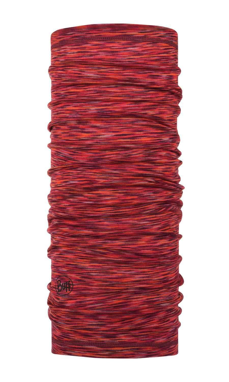 Тонкий шерстяной шарф-труба Buff Wool lightweight Rusty Multi Stripes