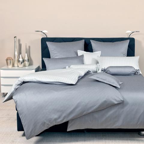 Постельное белье 2 спальное евро Janine Modern Classic silber