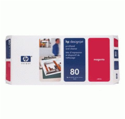 печатающая головка HP 80 Magenta