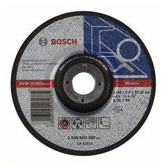 Зачистной круг 150х6х22,23 мм по металлу выпуклый Bosch Expert for Metal