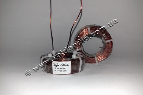 Катушка индуктивности Vajd Audio  0,49 mH*  0,23 Оhm* 1,32 mm