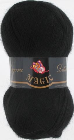 Пряжа Angora Delicate Magic 1102 Черный - купить в интернет-магазине недорого klubokshop.ru