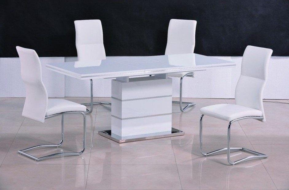 Стол обеденный AVANTI STAR (140) WHITE (белый)