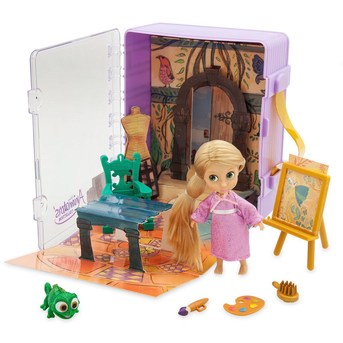 Мини-набор кукол Рапунцель - Disney Animators' Collection