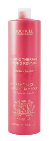Шампунь для экстремально поврежденных осветленных волос - Bouticle Extreme Blond Repair Shampoo 1000 мл