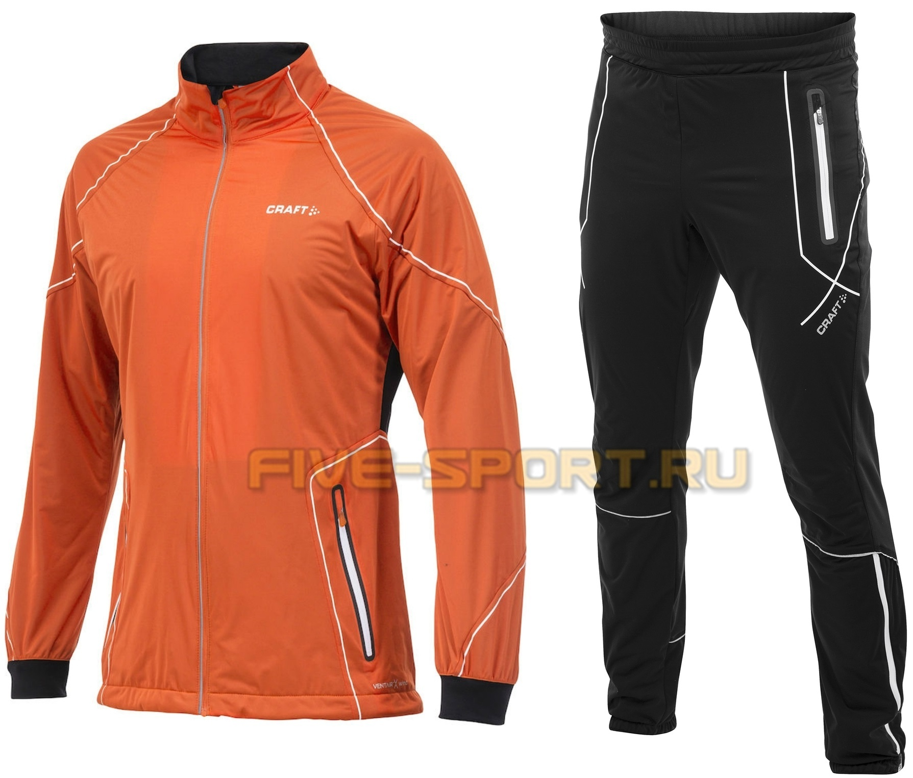 Лыжный костюм Craft High Function оранжевый мужской