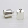 Концевик для шнура 9,5 мм, 14х10 мм (цвет - серебро) (2)