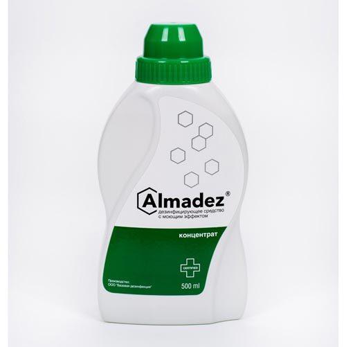 Средства для приготовления дезрастворов Дезинфицирующее средство Алмадез концентрат, 0,5 л. Алмадез_-0.5-л.jpg