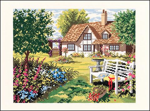 Английский домик