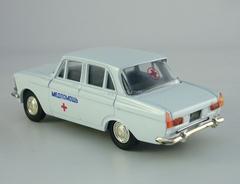 Moskvich-412 Ambulance 1:43 Agat Mossar Tantal
