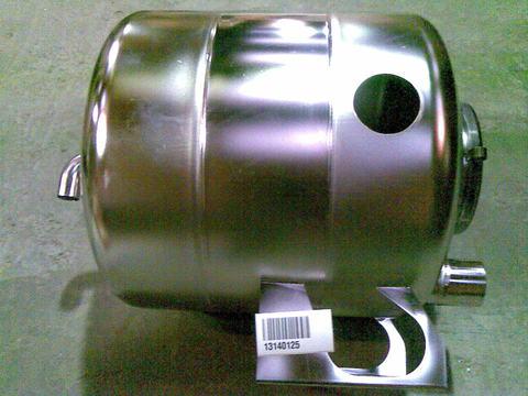 13140125 Колба из нерж. стали 100 л с крышкой для панели К6 (диа.76 мм)