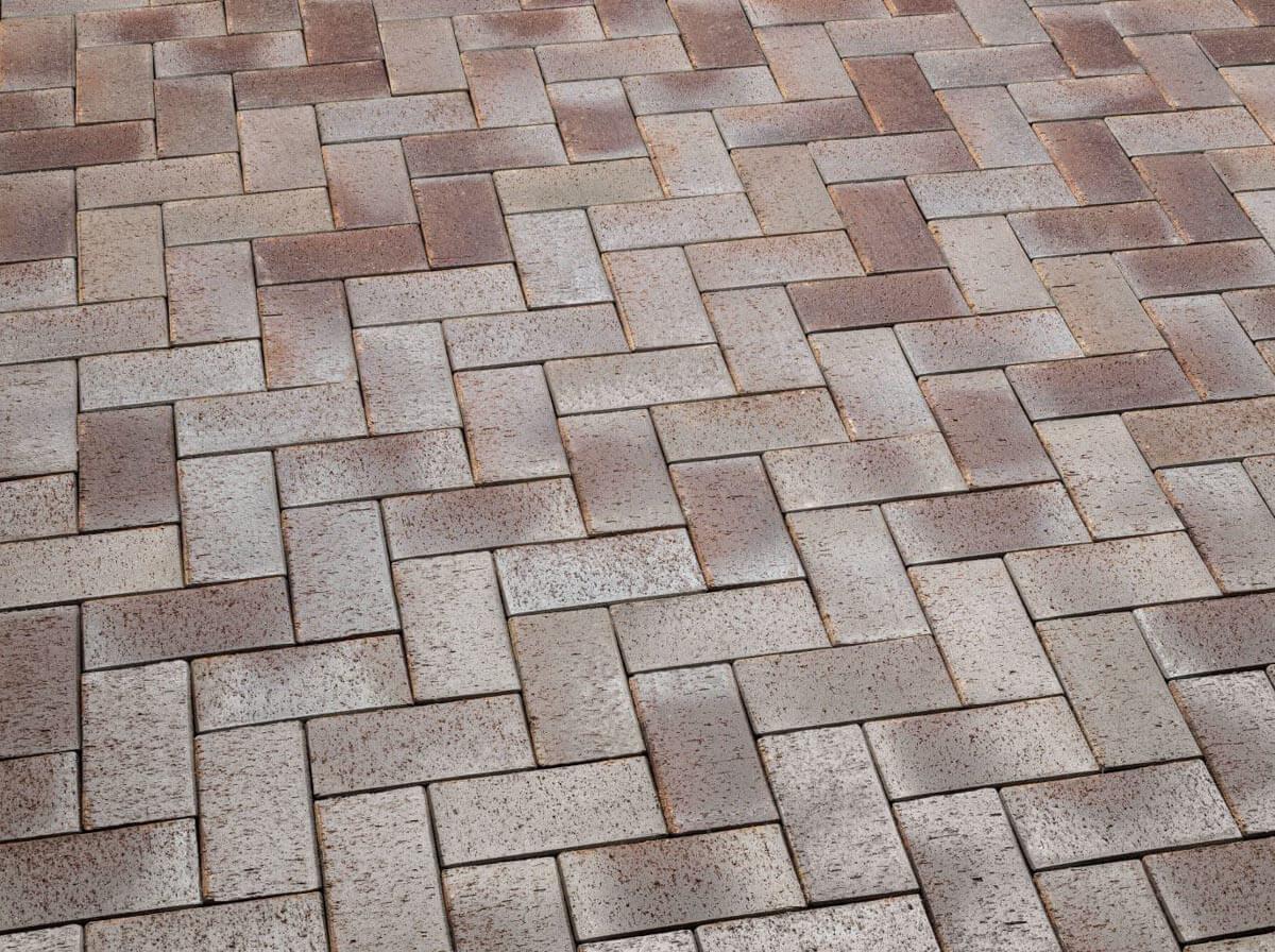 Клинкерная тротуарная брусчатка Feldhaus Klinker, P409KDF,
