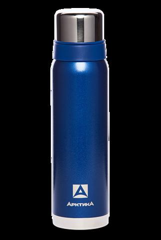 Термос Арктика (0,9 л.) с узким горлом американский дизайн, синий