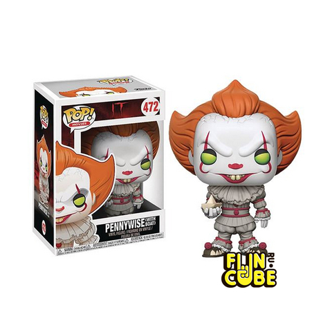 Funko Pennywise With Boat (No.472)