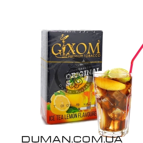 Табак Gixom Ice Tea Lemon (Гиксом Лимонный Чай со Льдом)