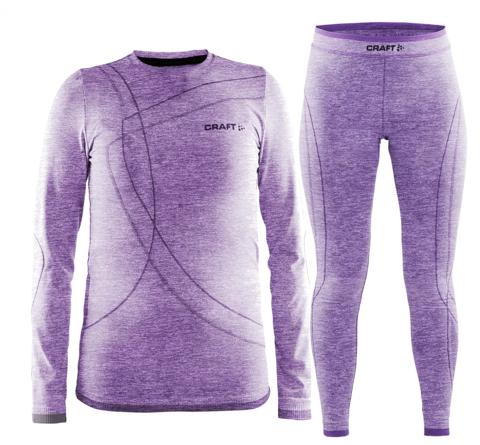 Комплект термобелья детские Craft Comfort (purple)