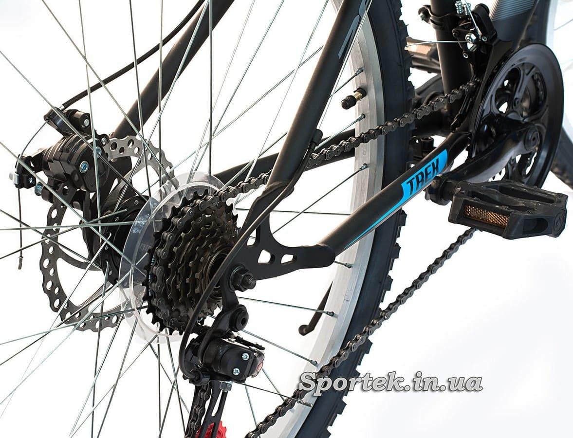 Кассета (задние звезды) горного универсального велосипеда Discovery Trek DD 2016 (Дискавери Трек)