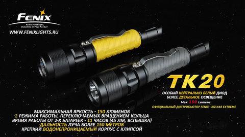 Фонарь Fenix TK20