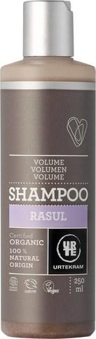 Urtekram Шампунь-объем для жирных волос с вулканической глиной Рассул, 250 мл