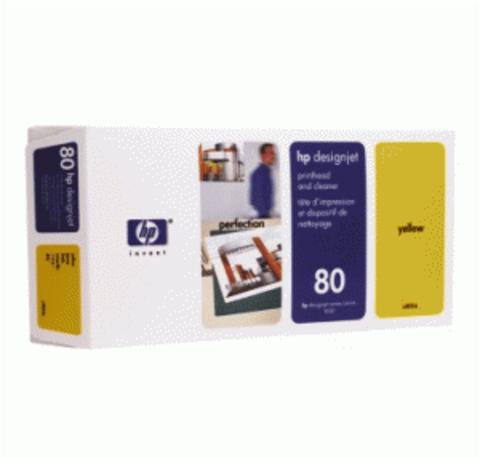 печатающая головка HP 80 Yellow