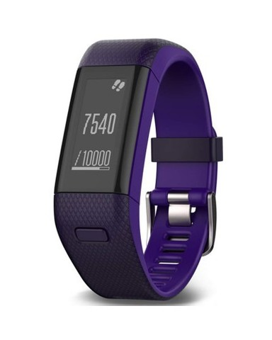 Купить Фитнес-браслет Garmin Vivosmart HR+ Фиолетовые 010-01955-43 по доступной цене
