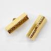 Концевик для лент 20 мм (цвет - золото), 10 штук