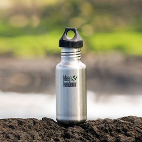 Бутылка Klean Kanteen Classic Loop 18oz (532 мл) Brushed Stainless
