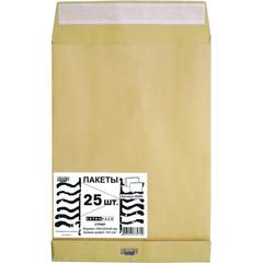 Пакет Крафт B4стрип Extrapack250х353х40 120г 25шт/уп/6569
