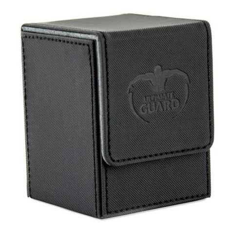 Ultimate Guard - Коробочка XenoSkin черного цвета на 100+ карт для Коммандера