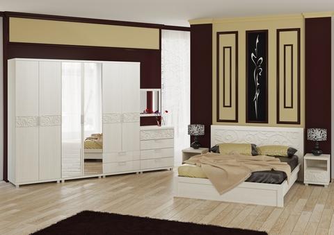 Спальня Ирис-06 дуб бодега
