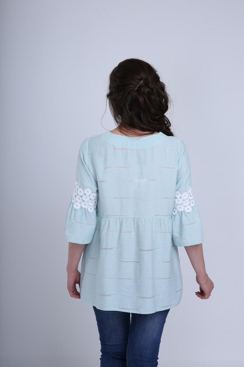 Блузка 09583 ментол